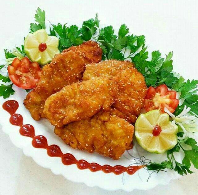 پودر سوخاری غذا